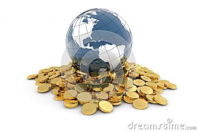 Global finance concept