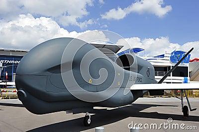 Global Hawk UAV Editorial Stock Photo