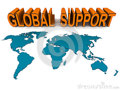 Global help and support
