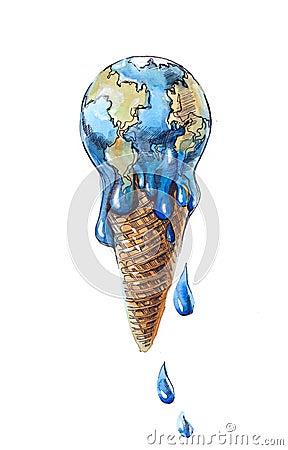 Free Global Ice Cream Royalty Free Stock Photo - 21569685
