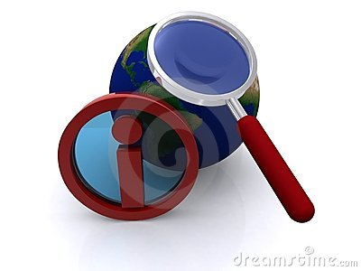Global information magnified