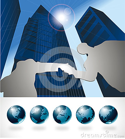 Global international business collaboration