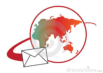 Global Mail logo concept