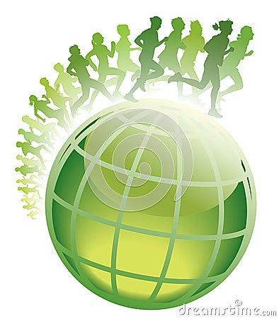 Global marathon