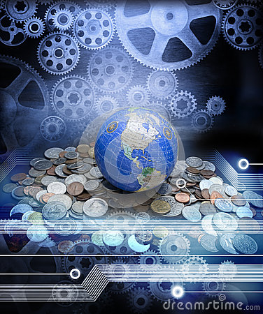 Free Global Money Business Economy Globalisation Royalty Free Stock Photography - 33907707