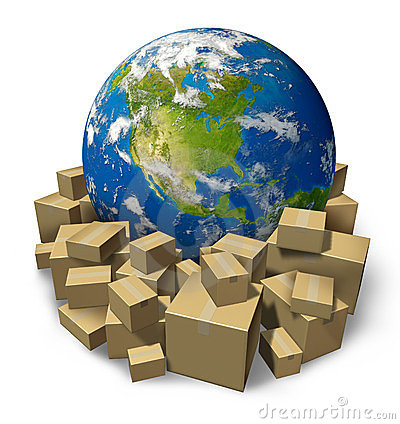 Free Global Package Delivery Stock Photos - 23812223