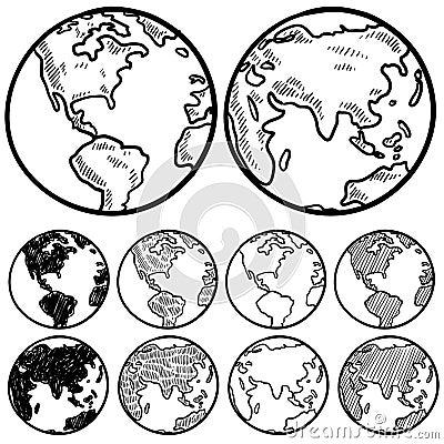 Global perspectives sketch