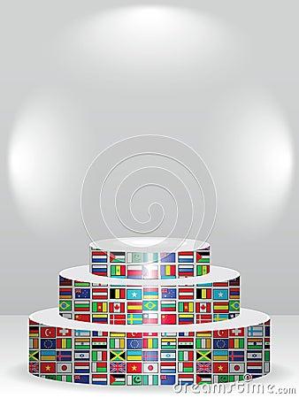 Global podium