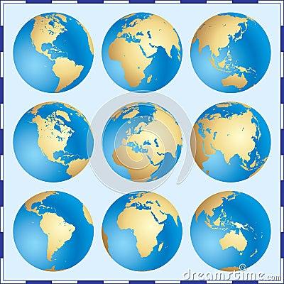 Free Global Set Stock Photo - 3096930