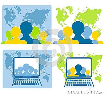 Global Teamwork Networking