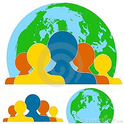 Global Teamwork People Royalty Free Stock Photography - Image: 5535207
