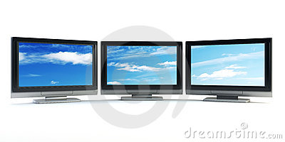 Global television concept