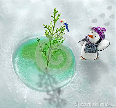Free Global Warming In North Pole Royalty Free Stock Photography - 92394667