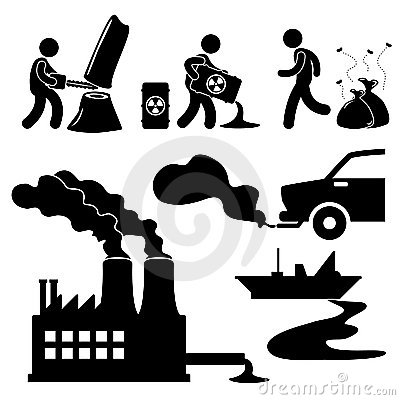 Free Global Warming Pollution Green Icon Stock Photo - 22966020