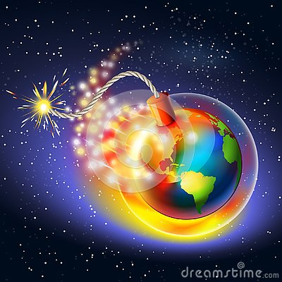 Free Global Warming Warning Concept Royalty Free Stock Images - 130100979