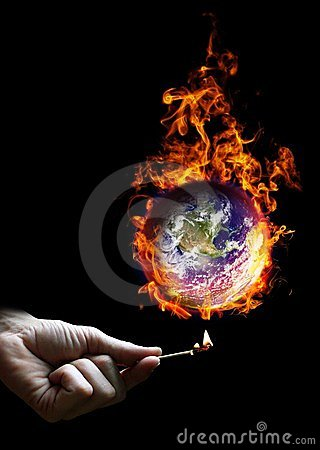 Put the world on fire