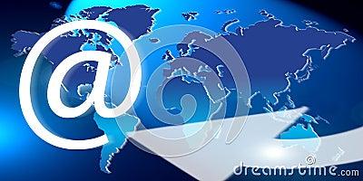 Global world email