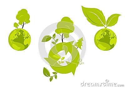 Globalt diagram för miljö