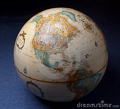 Free Globe 2 Stock Image - 1663391