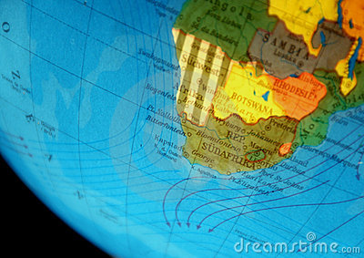 Globe With Africa