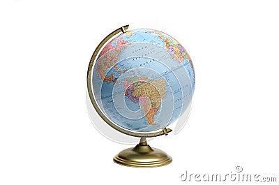 Globe of Americas