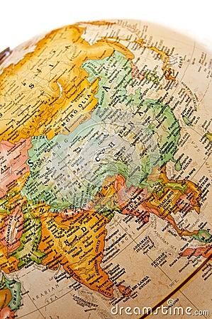 Free Globe - Asia Stock Photo - 10351300