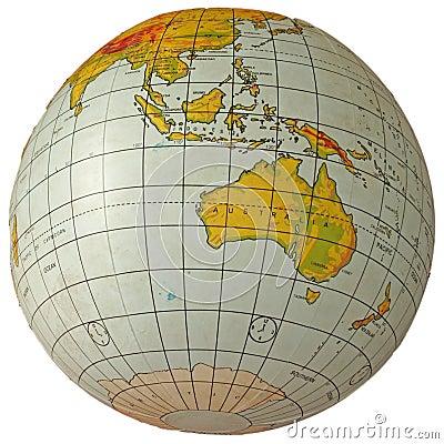 Free Globe Australia Stock Image - 1677011