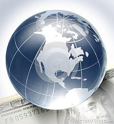 Globe on bill
