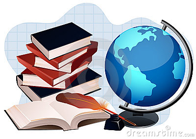 Image result for Images for Books with a globe