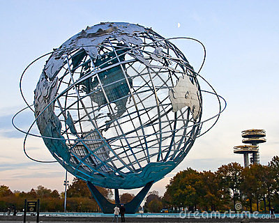 Globe  In Corona Park of Queens