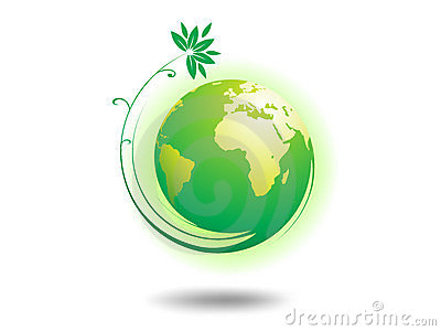 Globe d environnement