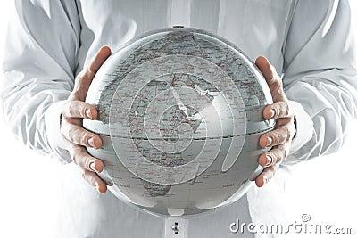 The globe of Europe