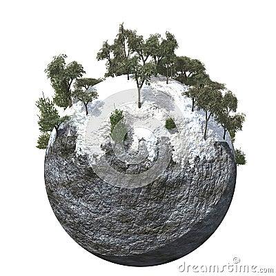 Globe Ground Cold Mountain