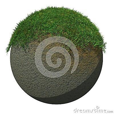 Globe Ground with Grass