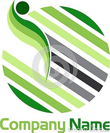 Globe lines logo