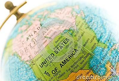 Globe on location (USA)