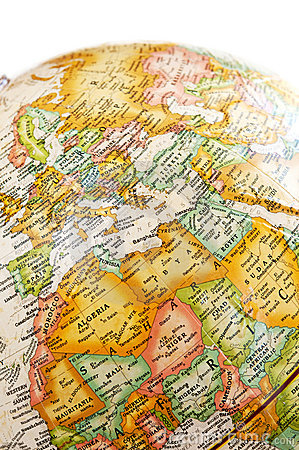 Globe - Mediterranean