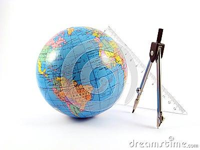 Globe navigate distance measurement