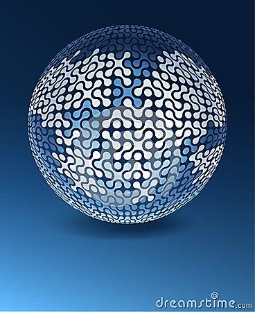 Globe network concept