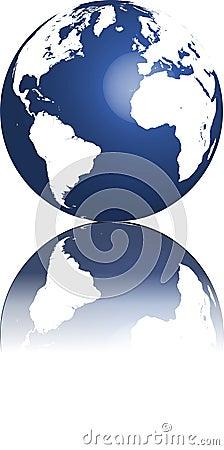 Free Globe Of World Royalty Free Stock Photography - 11470777