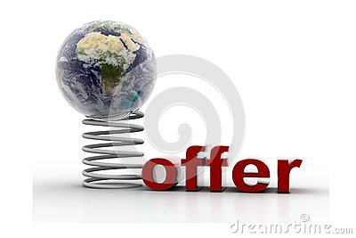 Globe and offer