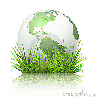 Free Globe On Grass Stock Photos - 20551313