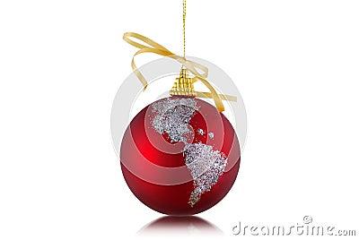 Globe Ornament For Christmas