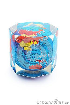 Globe Paperweight
