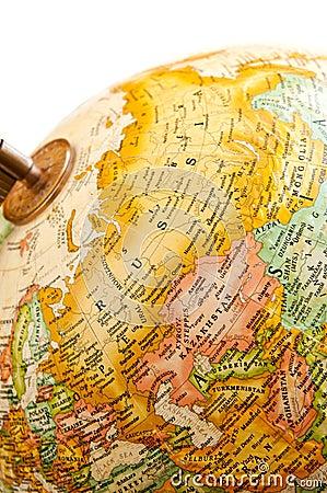 Globe - Russia