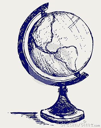 Globe sketch