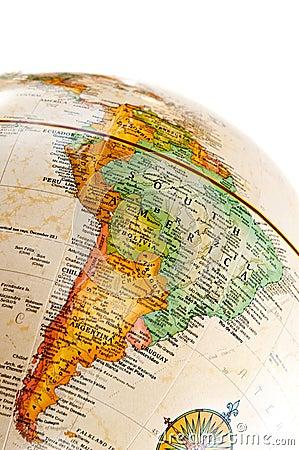 Free Globe - South America Stock Photography - 9390022