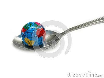 Globe in Spoon