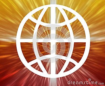 Globe symbol