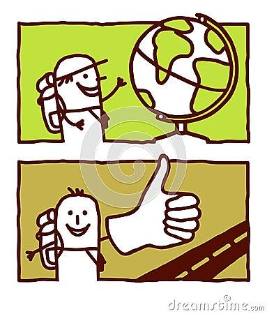 Globe trotter & hitchhiker